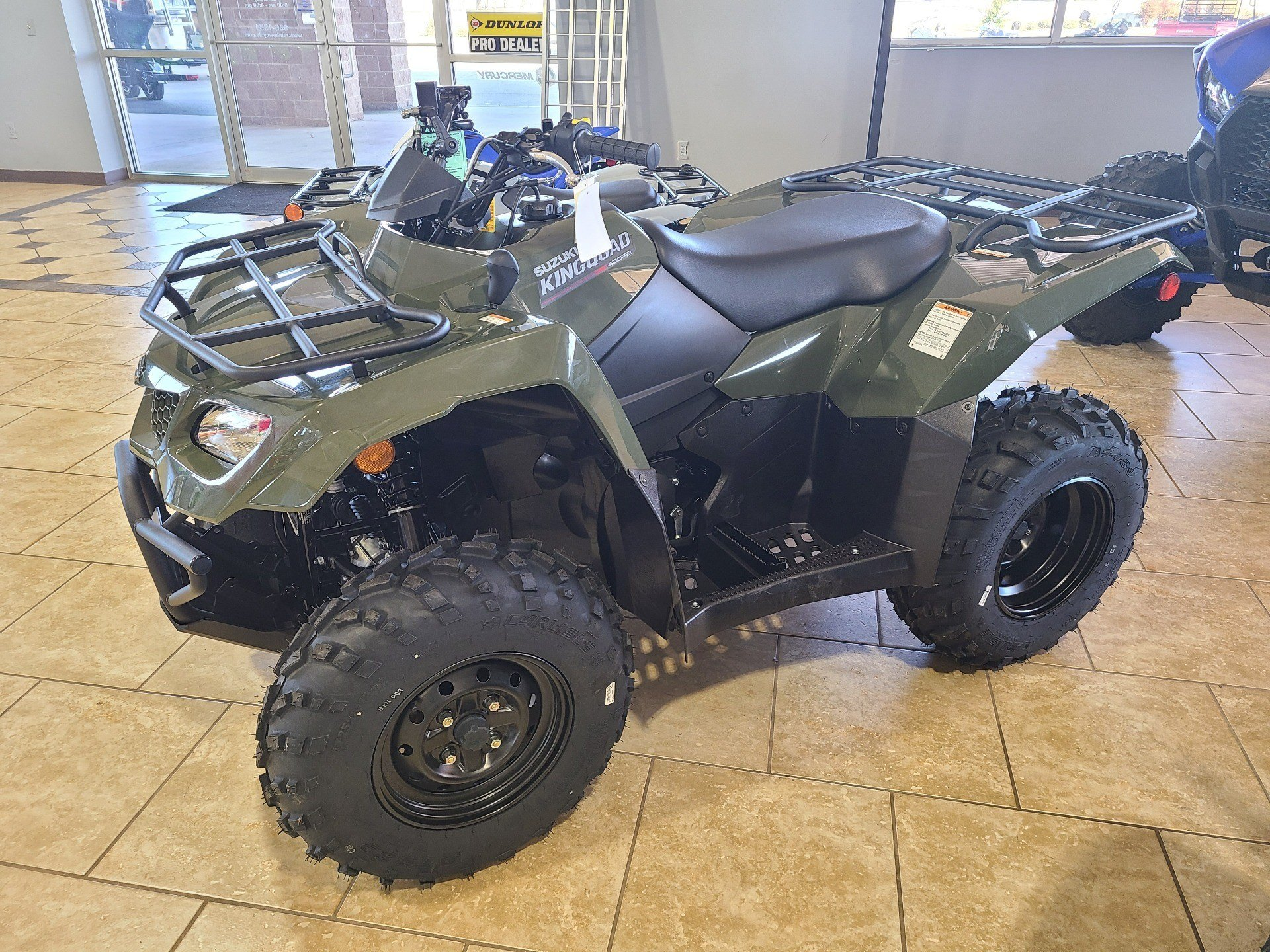 2021 Suzuki KingQuad 400FSi in Rogers, Arkansas - Photo 3