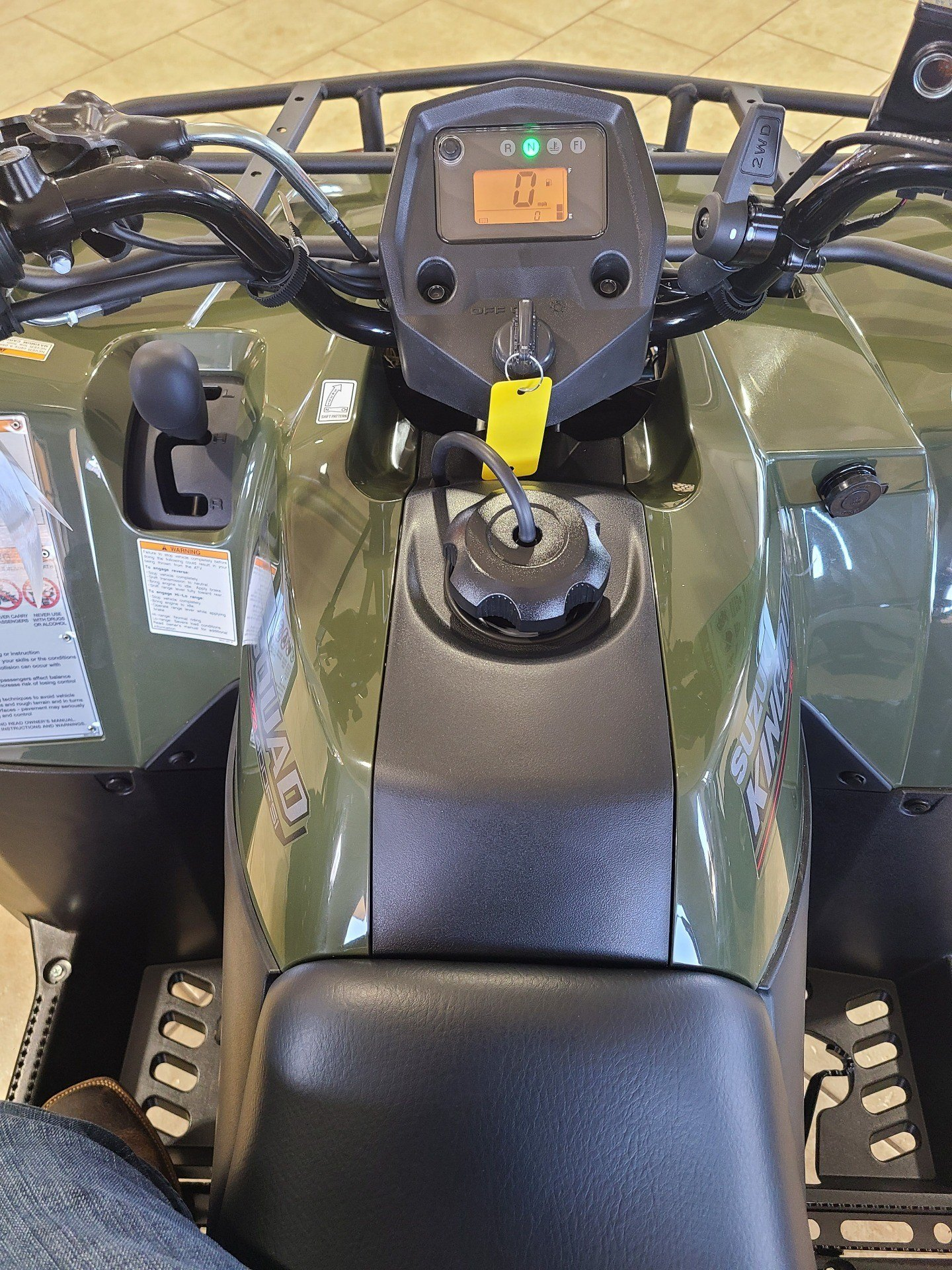 2021 Suzuki KingQuad 400FSi in Rogers, Arkansas - Photo 5