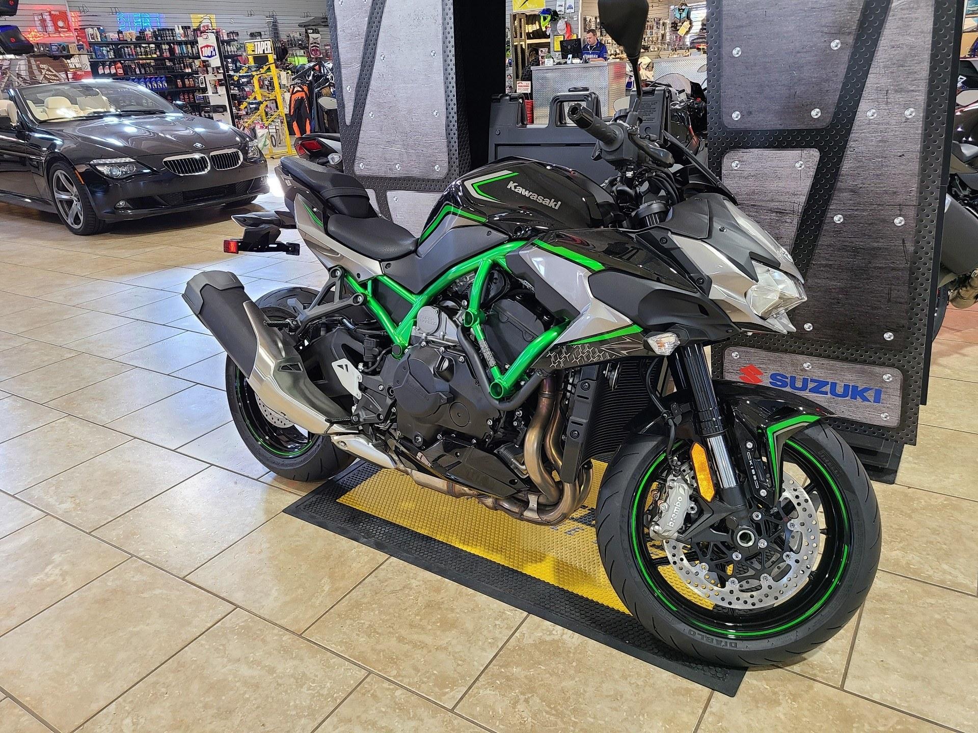 All New 2020 Kawasaki Z H2 | First Look Design at EICMA