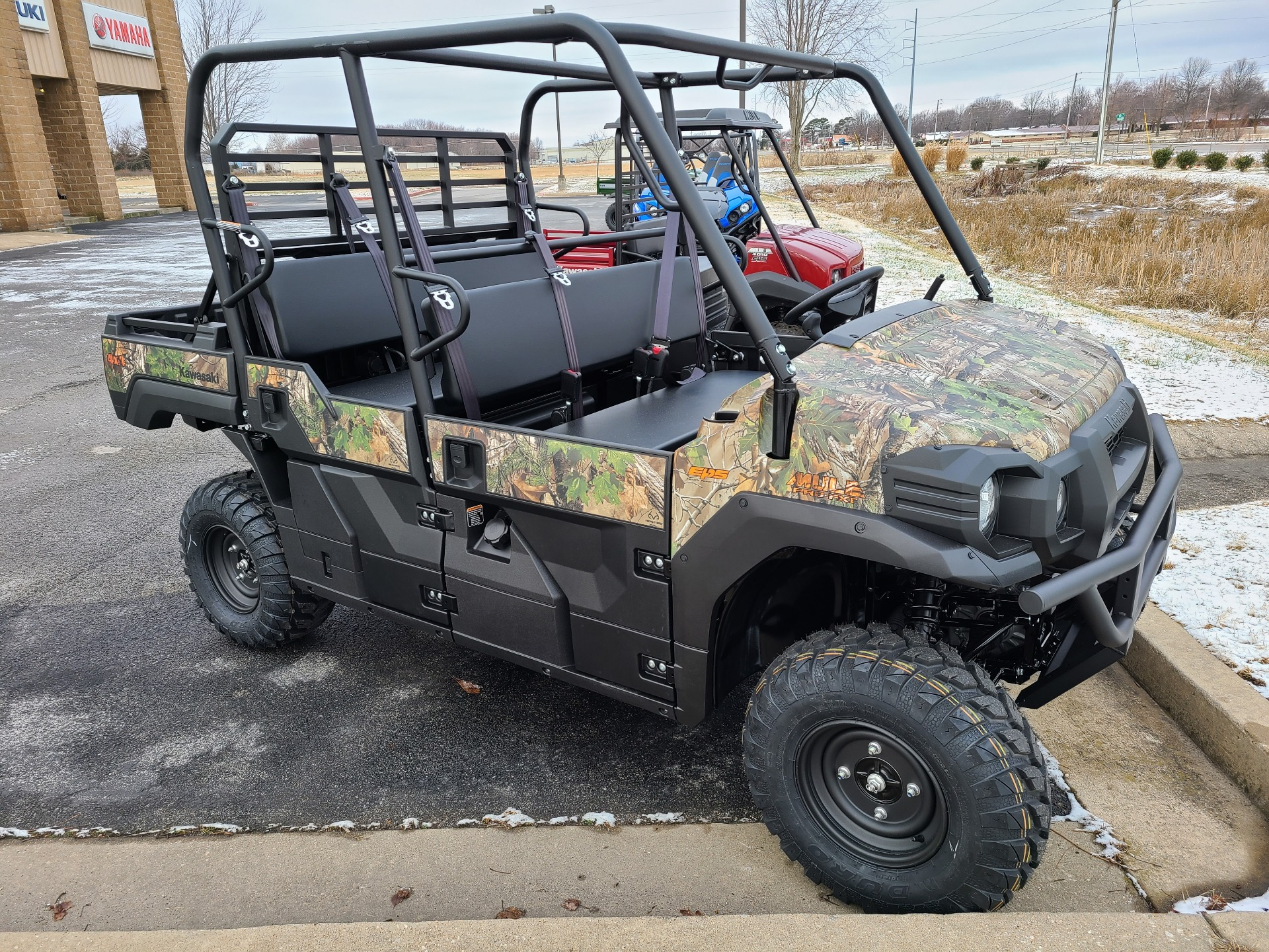 2021 Kawasaki Mule PRO-FXT EPS Camo in Rogers, Arkansas - Photo 3