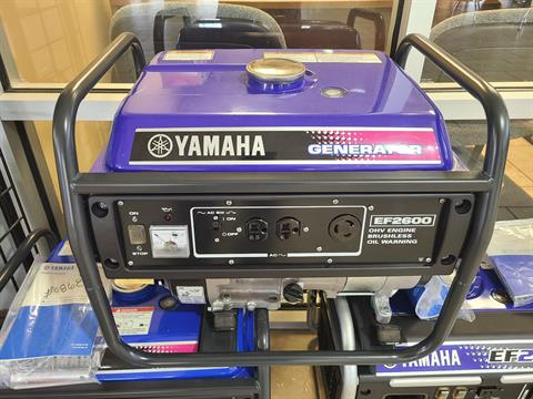 Yamaha EF2600Q in Rogers, Arkansas
