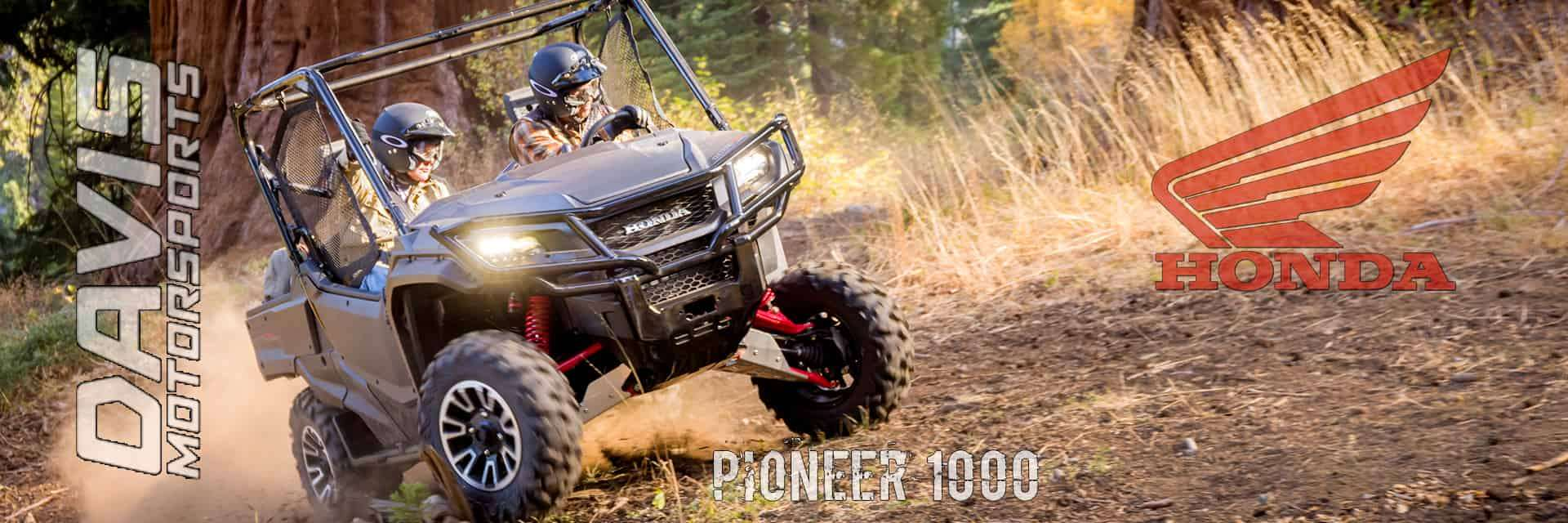 Honda Pioneers are available at Davis Motorsports of Delano | Delano, MN