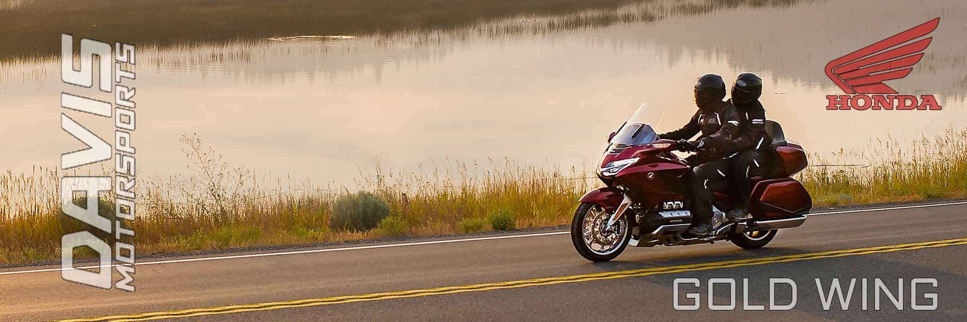 Honda Goldwings are available at Davis Motorsports of Delano | Delano, MN
