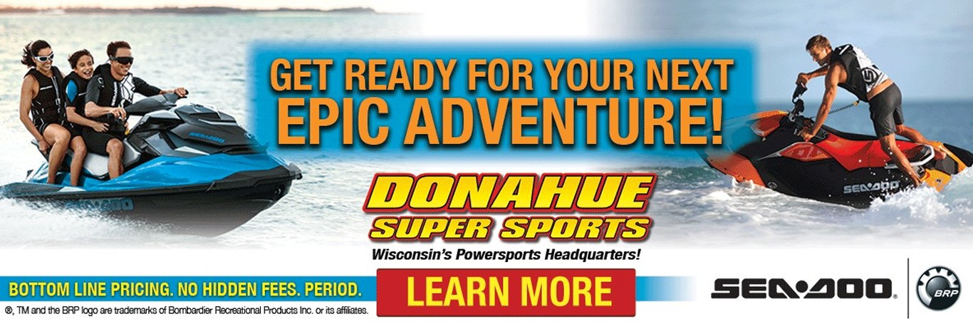 Your next Sea-Doo adventure starts at Donahue Super Sports