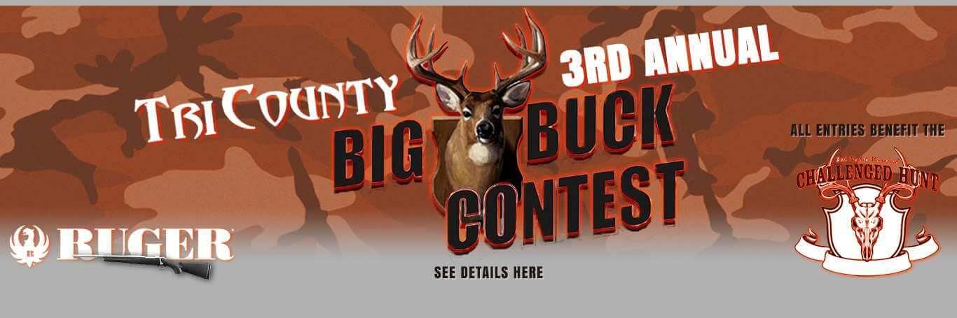 3rd Annual Big Buck Contest