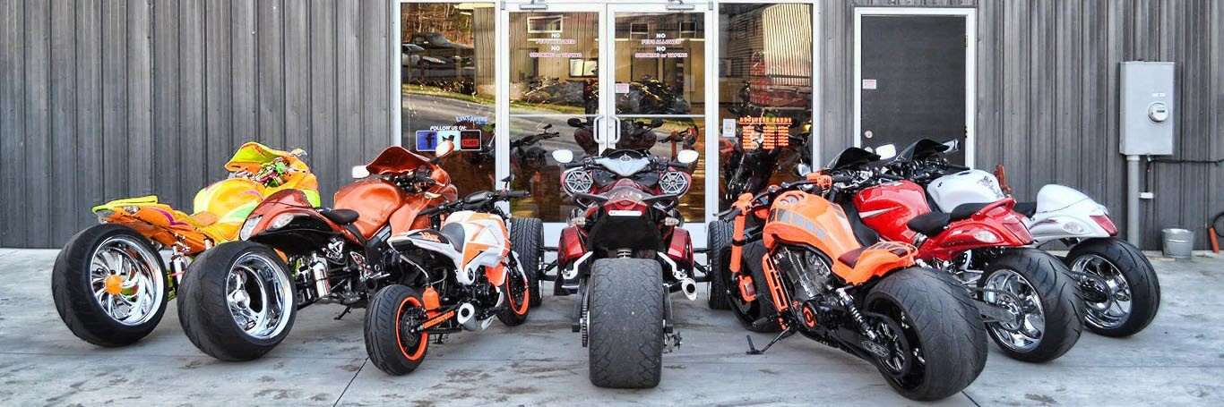Shop a wide variety of Custom Motorcycles For Sale at Garwood Custom Cycles, located in Lexington, NC.