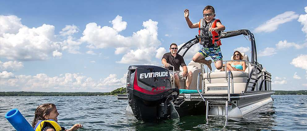 Shop Evinrude Engines at Harrison Powersports