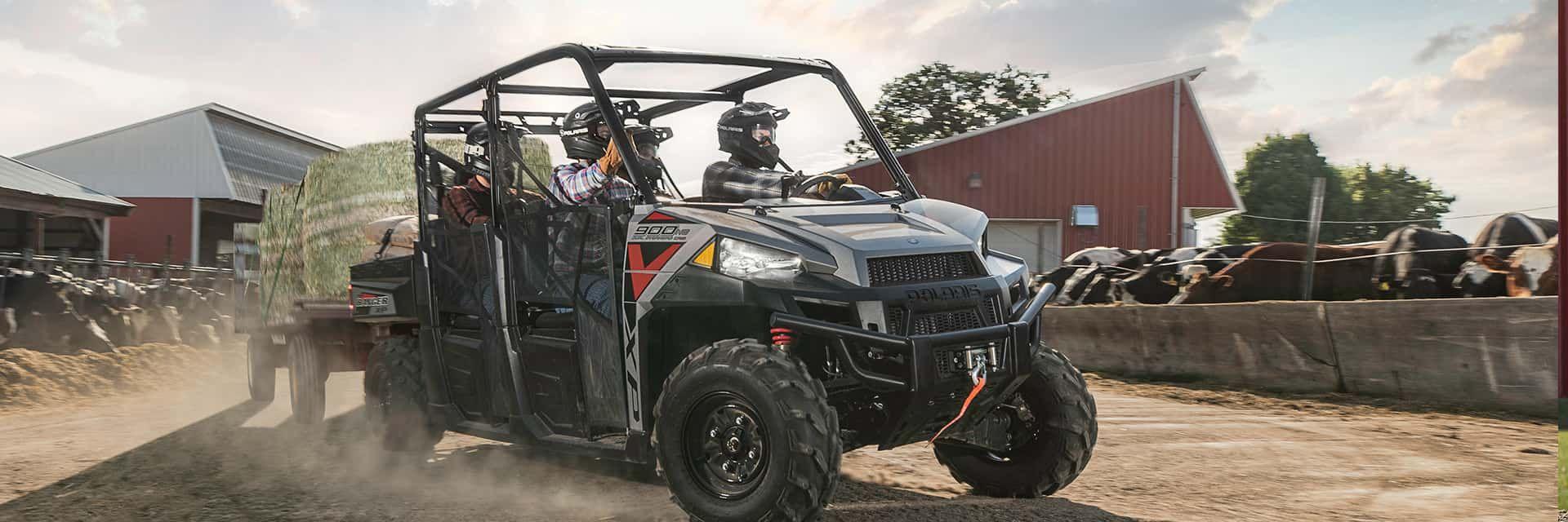 Explore the Polaris Ranger Crew Utility Vehicle at Jan-Cen Motor Sports