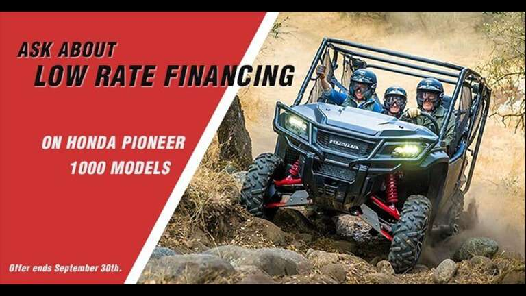 Shop Promotions at Rod's Power Sports