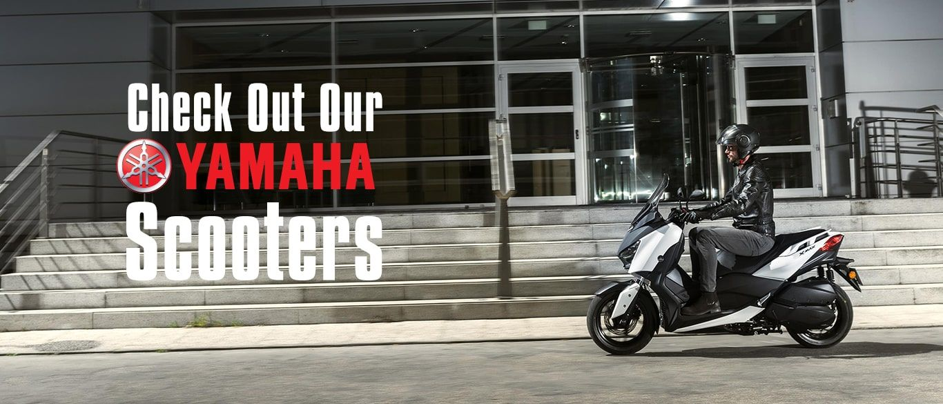 Check out our Yamaha Scooters