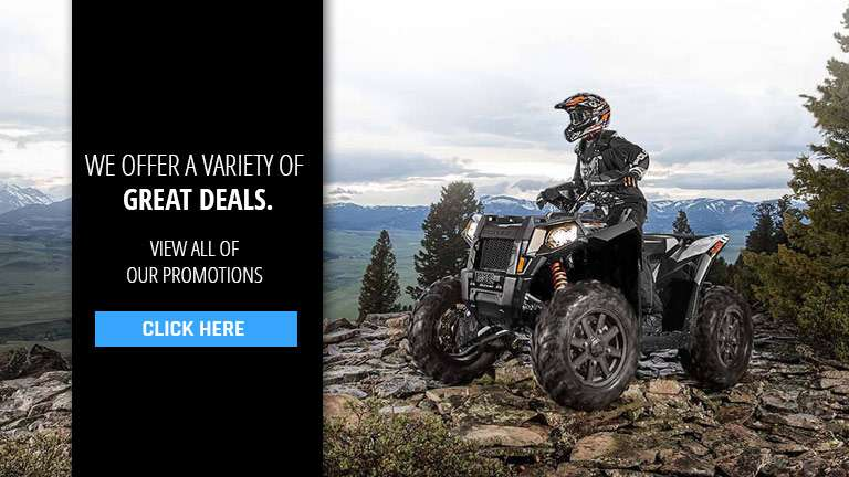 Promotions offered at Lynchburg Powersports in Forest, VA.