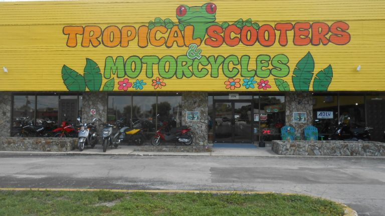 Tropical Scooters & Motorcycles Store Front