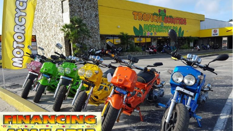 Tropical Scooters | Ext Shot