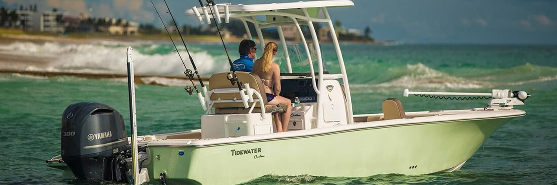 Tidewater Boats are available at Wilson's Marine | Newberry, SC