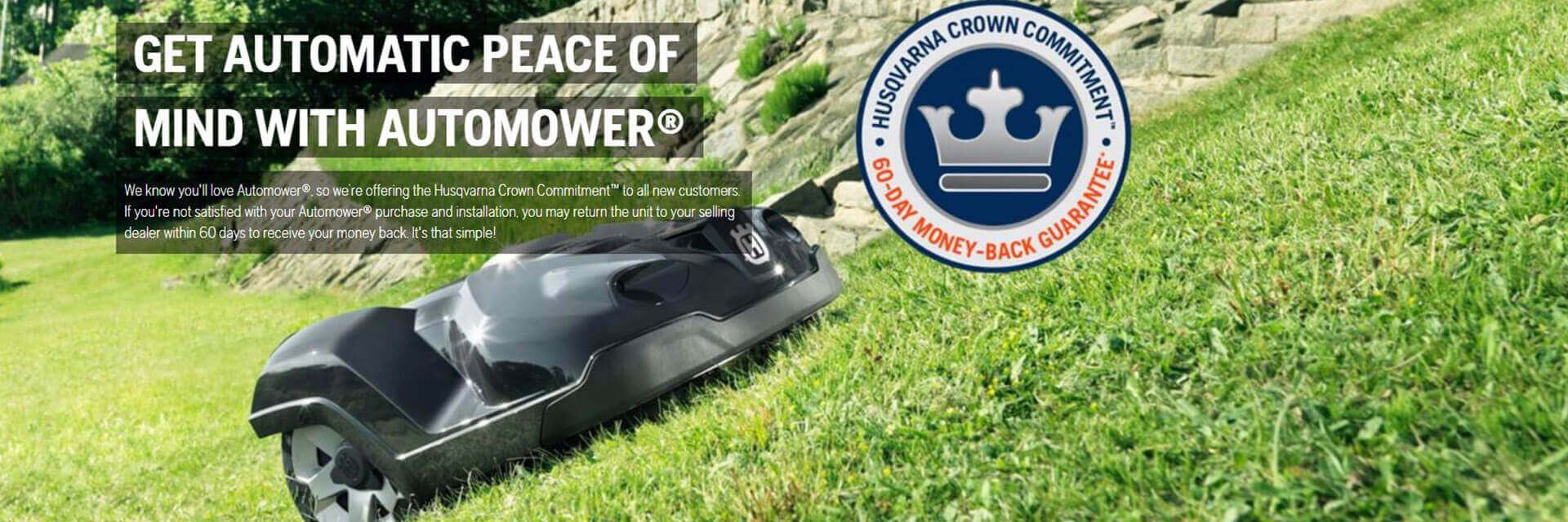 Automower | Husqvarna Robotic Lawn Mowers Available at Anfield Trailers in Lacombe, LA