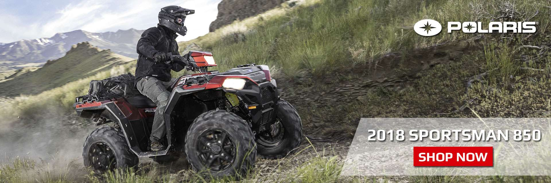 Shop Polaris Sportsman 850 at All Ohio Motorsports located in Cleveland, OH
