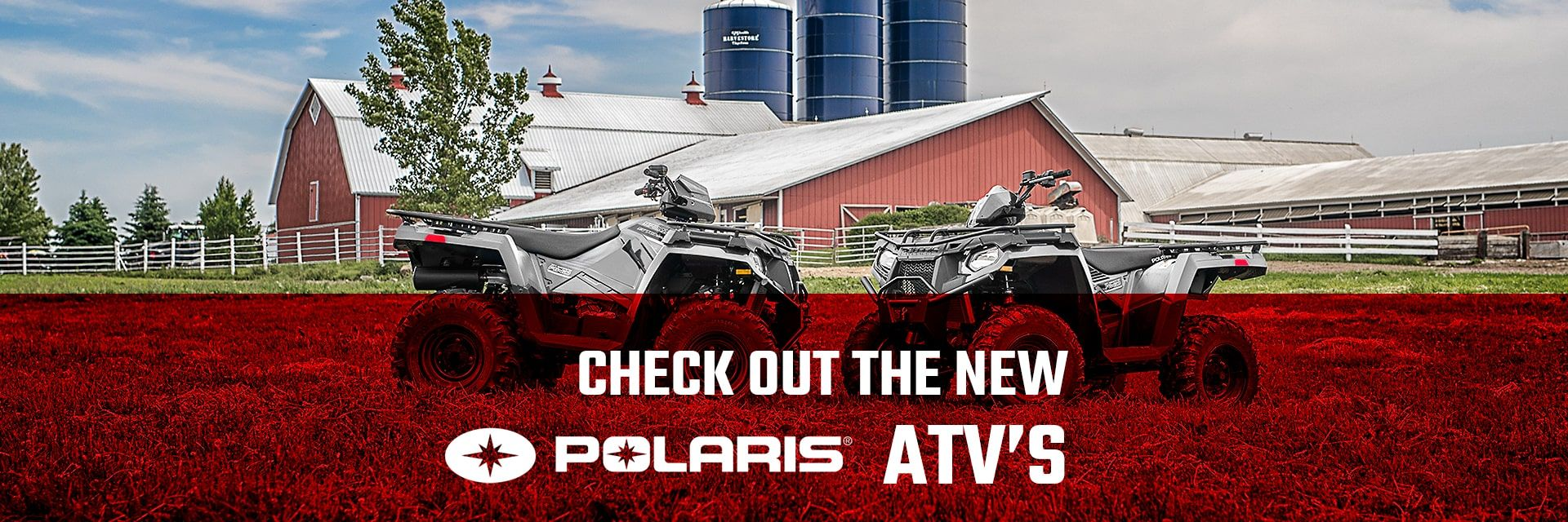 New Polaris ATVs