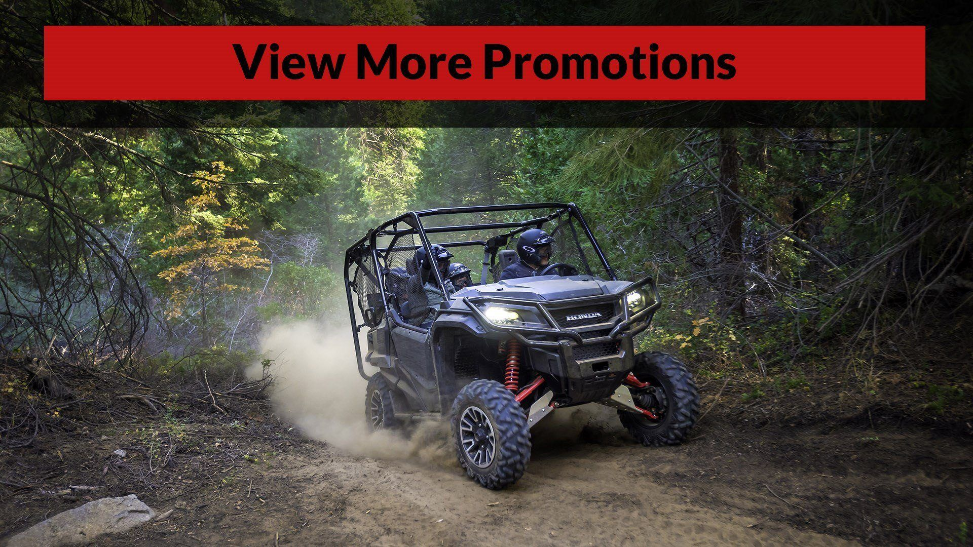 Shop Honda Promotions at Christman's Cycle Sales in Palatine Bridge, NY