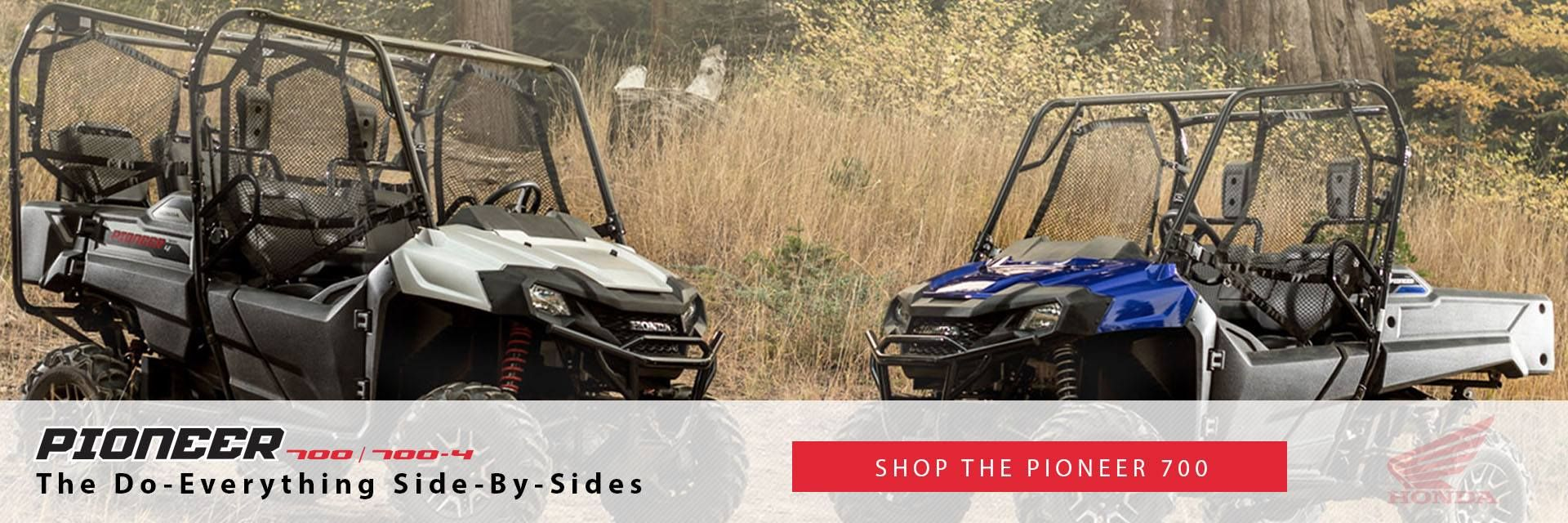 Shop Honda Pioneer 700 Utility Vehicles at Christman's Cycle Sales in Palatine Bridge, NY