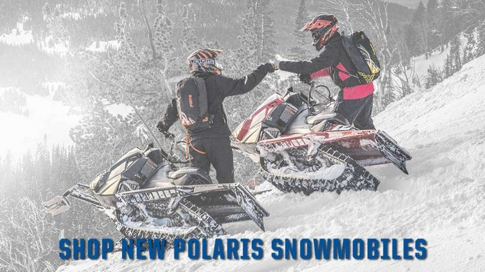 Shop new Polaris snowmobiles for sale at Fred's Fastrac in Fond Du Lac, WI