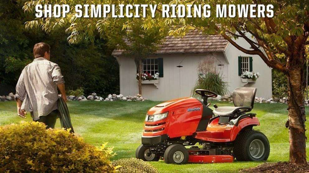 Shop Simplicity Riding Lawn Mowers for sale at Fred's Fastrac in Fond Du Lac, WI