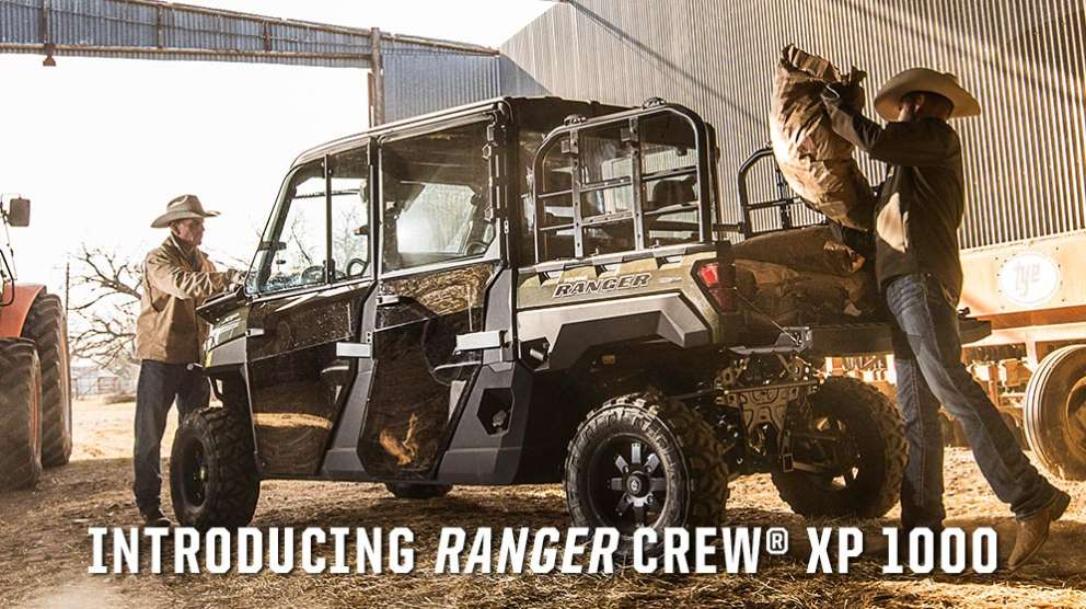 Introducing the Polaris Ranger Crew XP 1000 Utility Vehicle for sale at Fred's Fastrac in Fond Du Lac, WI