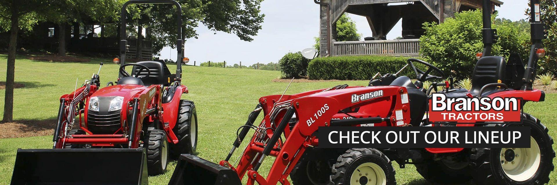 Branson Tractor Lineup
