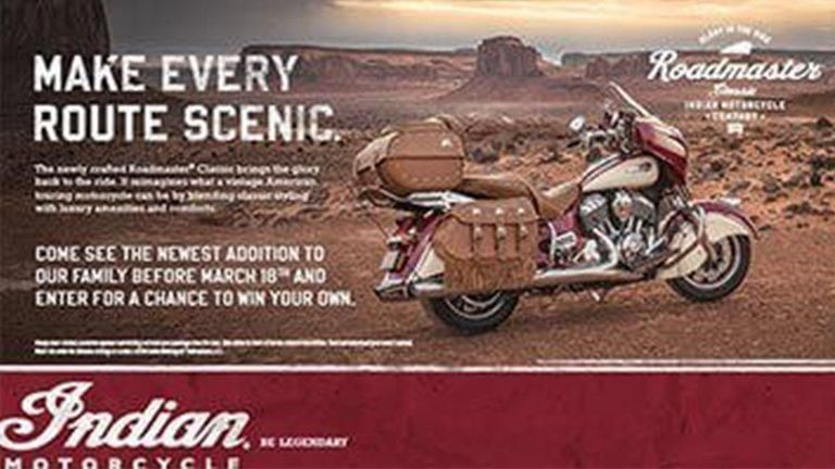Bison Thunder Motorcycle Incentives