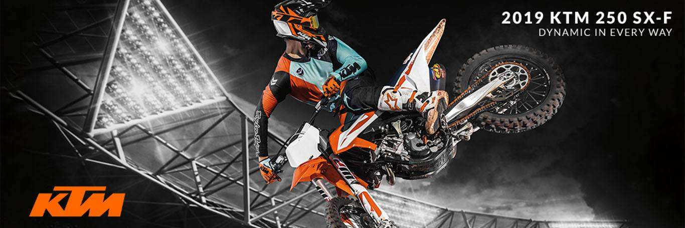 The 2019 KTM SX-F For Sale at Mainland Cycle Center in La Marque, TX