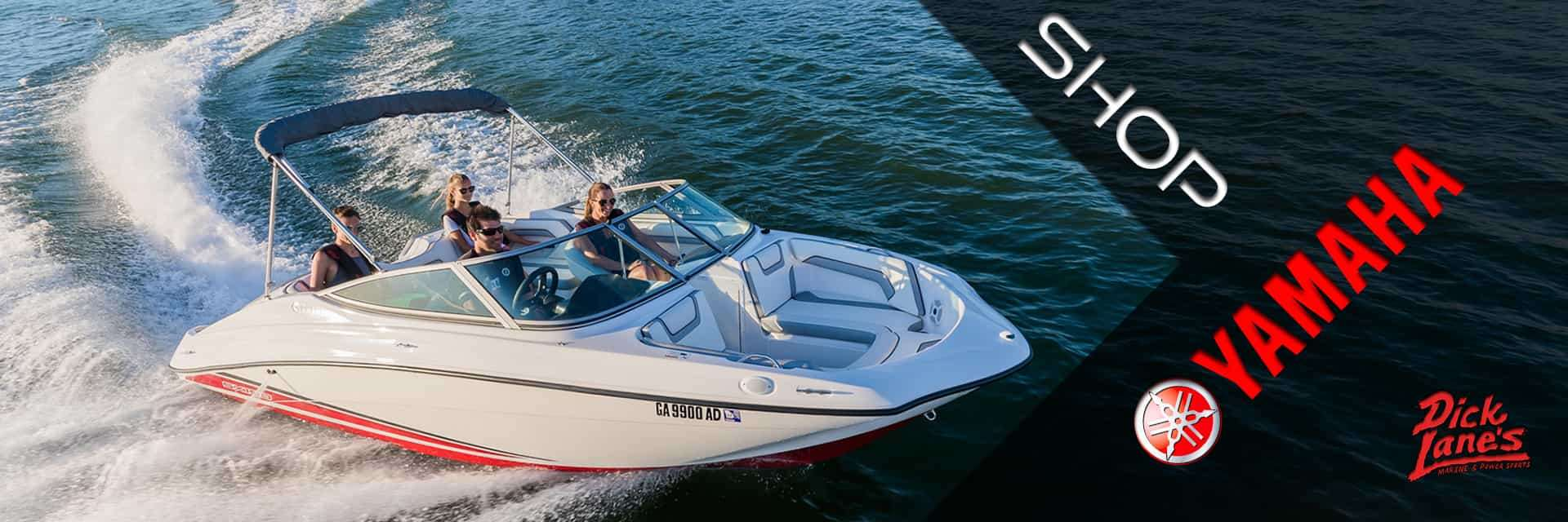Yamaha Power Boats are sold at Dick Lane's Marine and Powersports | Afton, OK