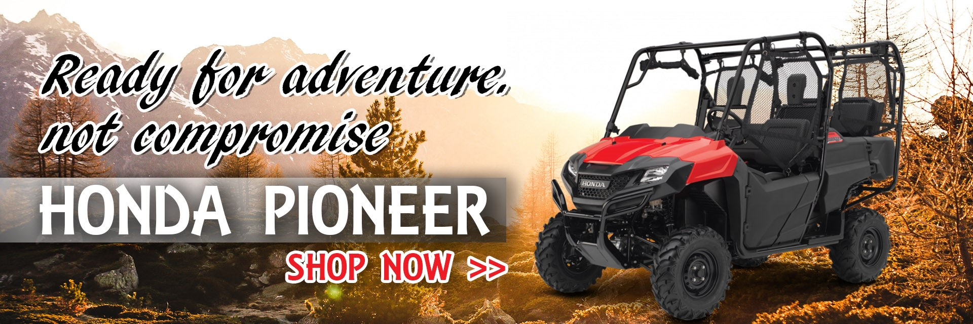honda pioneer 1000 - honda off road vehicles