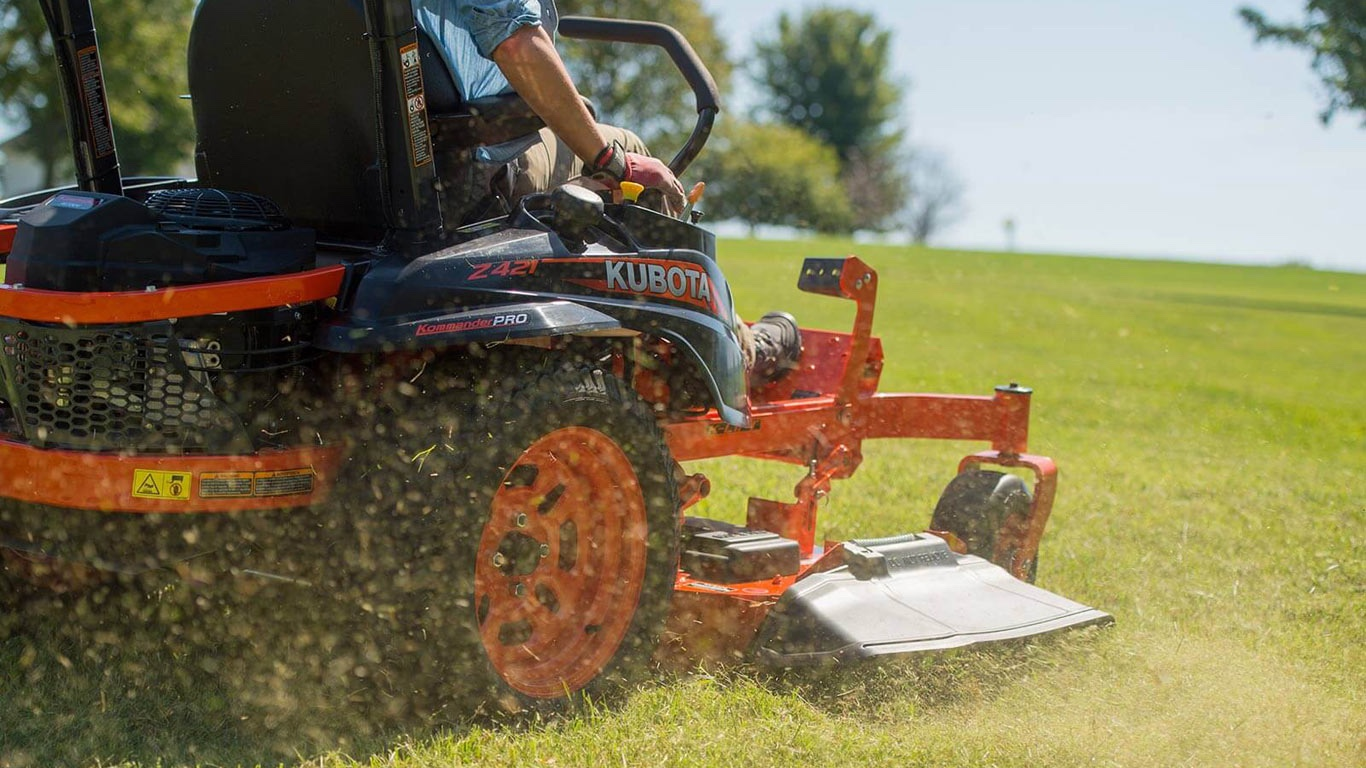 Kubota Zero-Turn Mowers