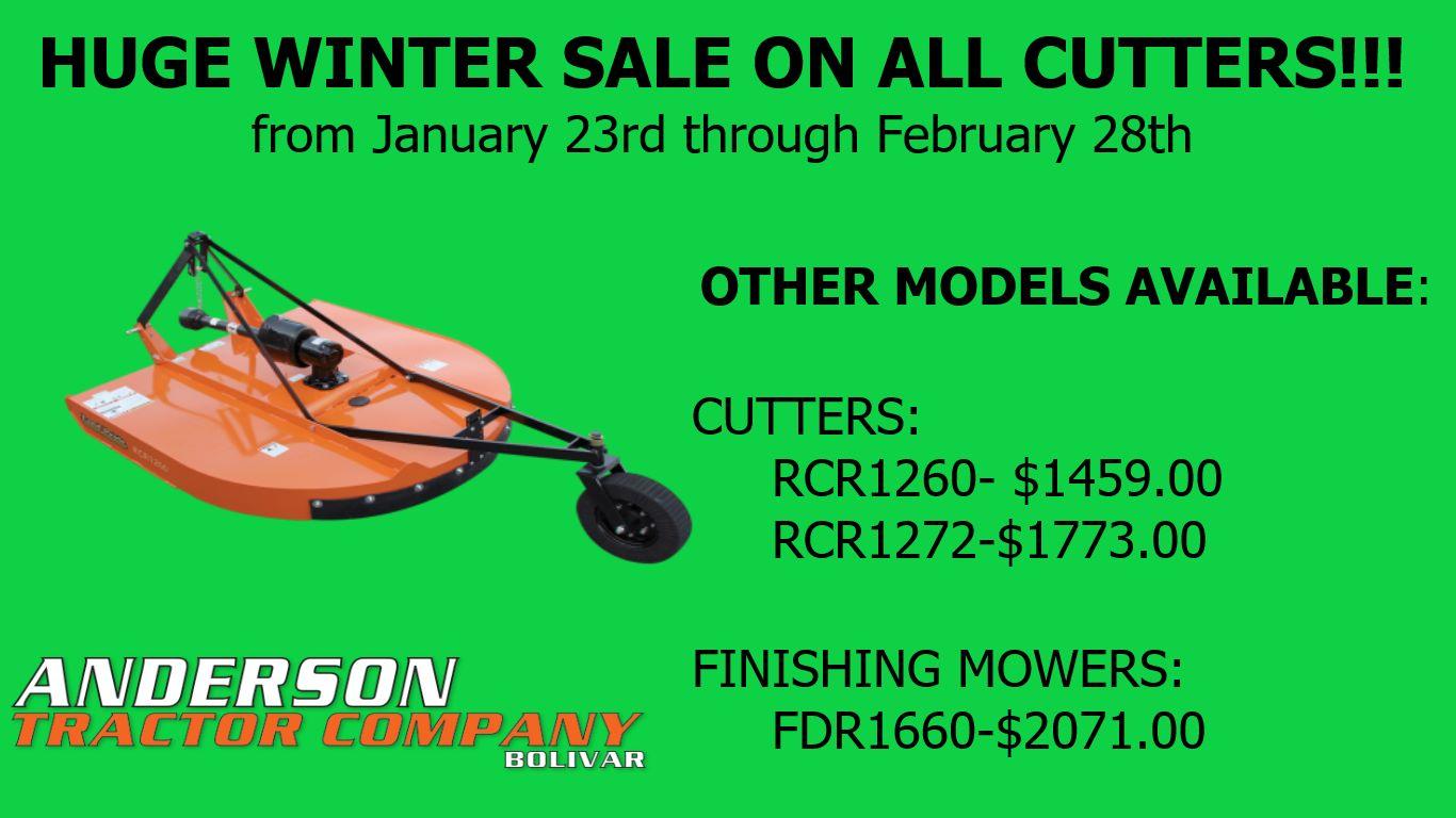 Huge Cutter Sale!