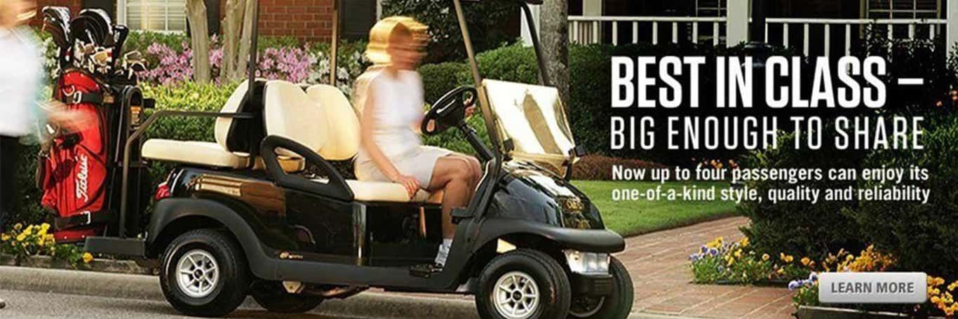 Club Car is available at Ultimate Golf Carts | Otsego, MN