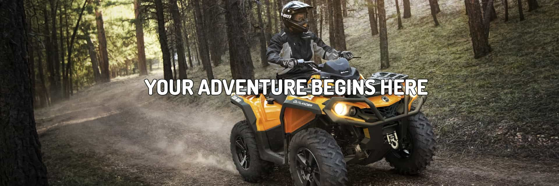 Can-Am is available at Powersports360 | OH
