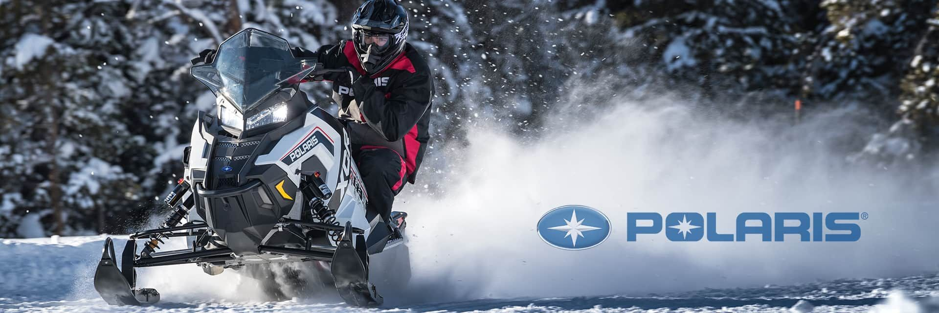 Polaris Snowmobiles are available at Central Maine Powersports | Lewiston, ME