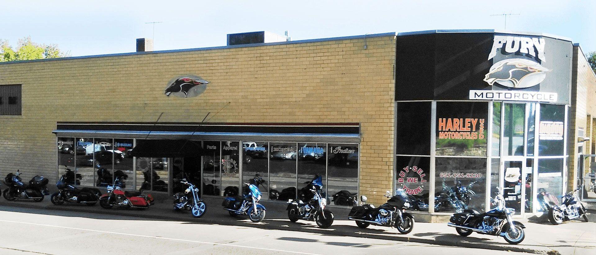 Fury Motors South St Paul >> Yamaha Big Dog Harley Davidson Honda Suzuki Dealer Mn