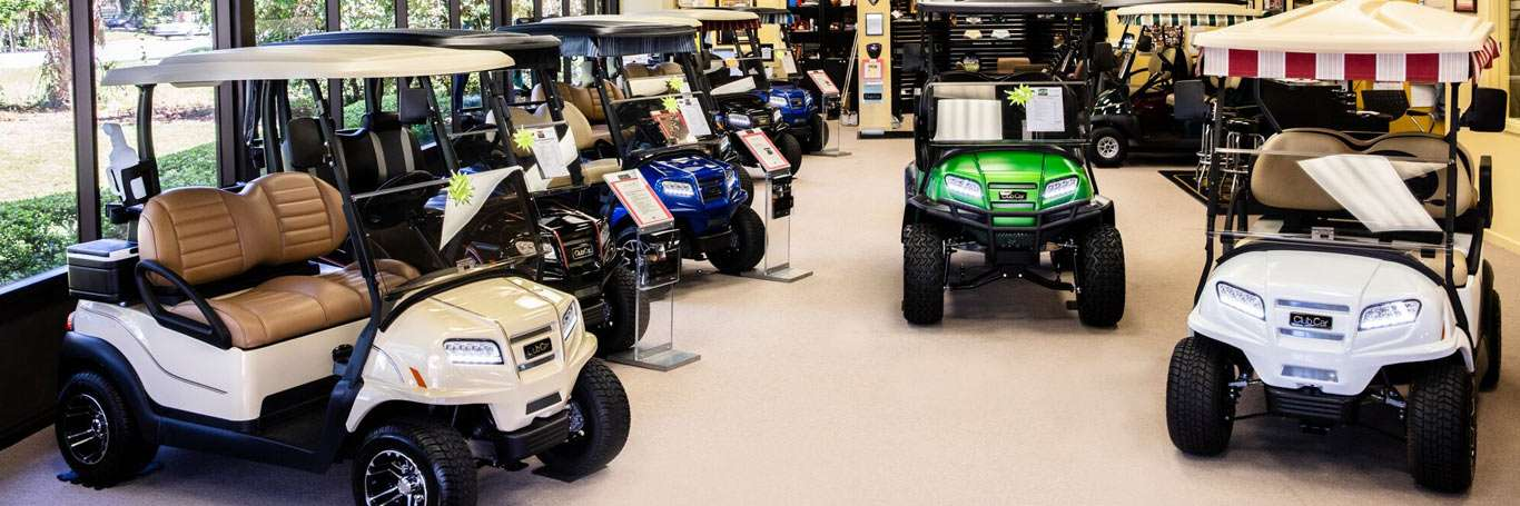 Club Car Hilton Head showroom.