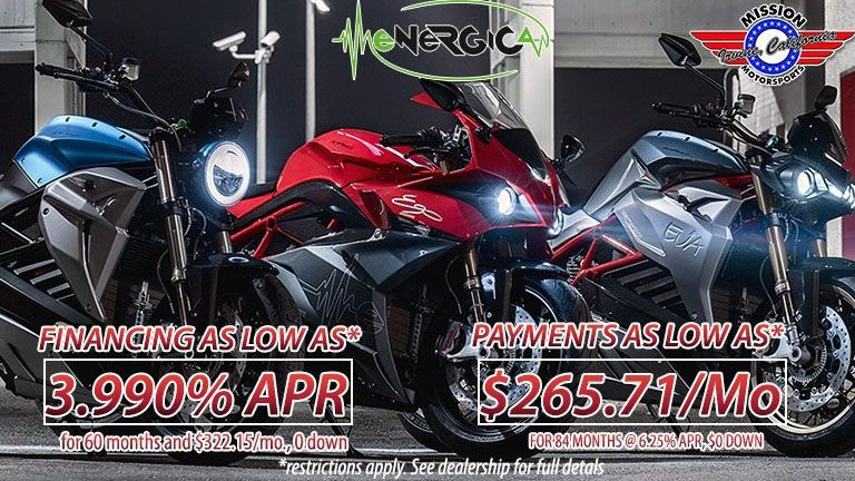 energica motorcycle dealership in Irvine, CA