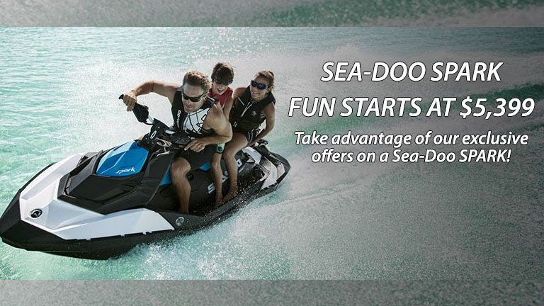 seadoo spark sales event