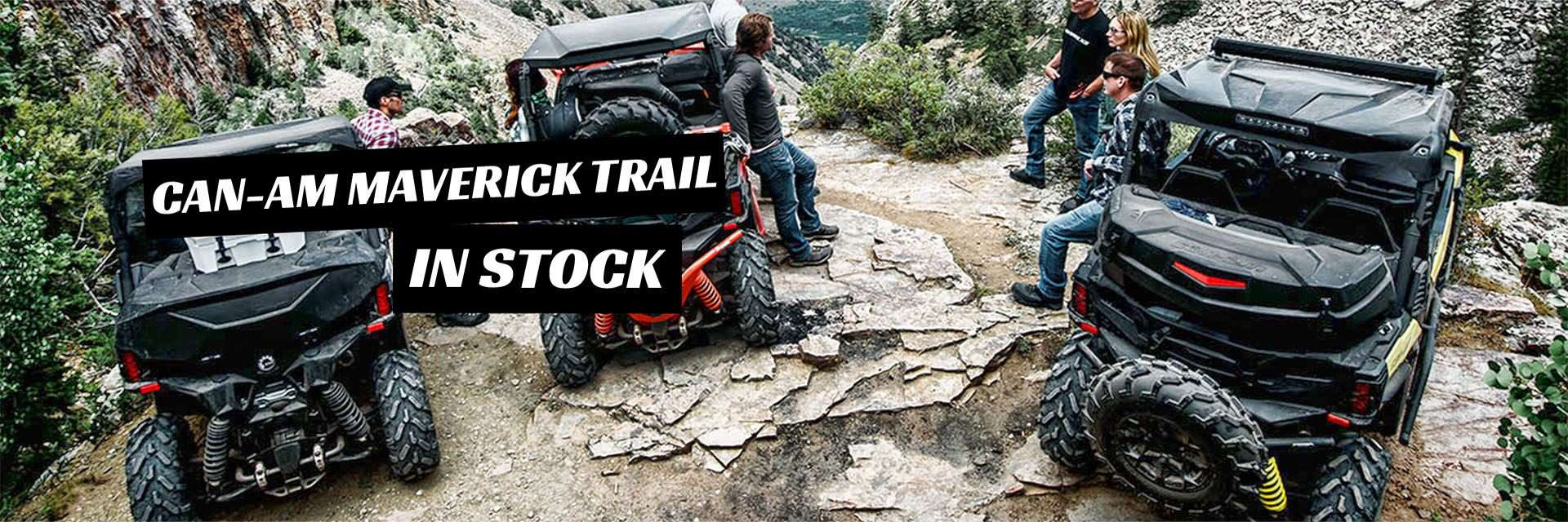 2018 Can-Am Maverick Trail In Stock at Benny's Power in Chester, VT