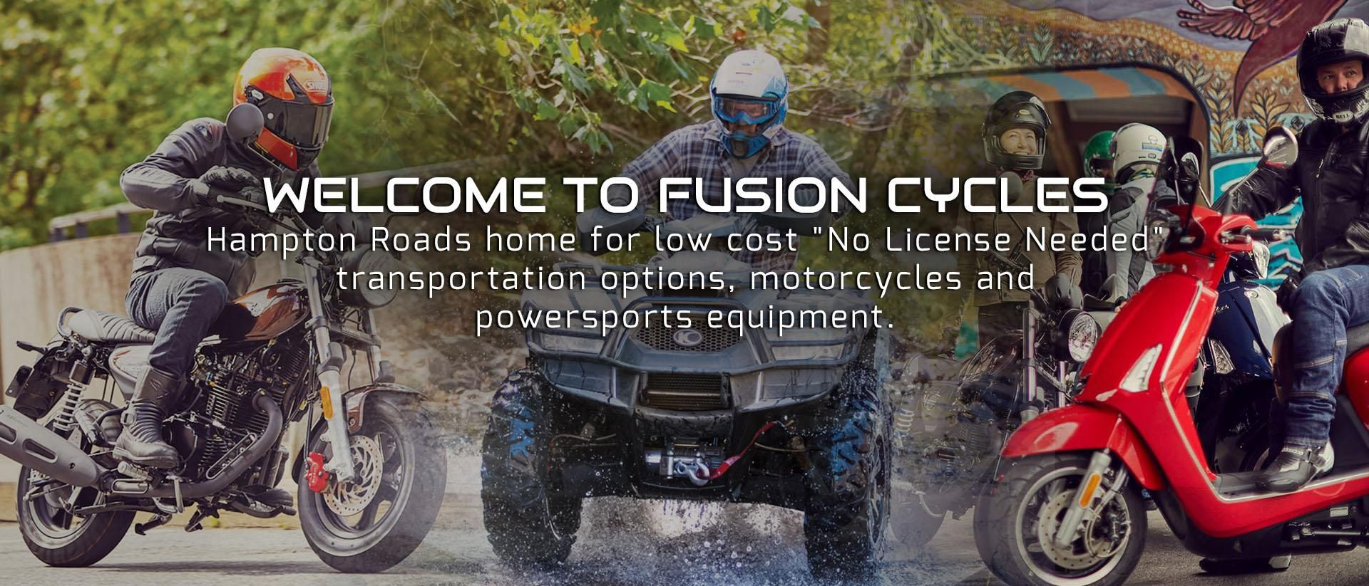 Fusion Cycles | Scooters, Mopeds & Motorcycles for Sale in