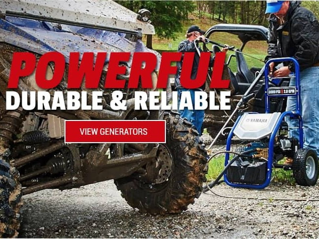 Yamaha Generators sold at Careys Cycle