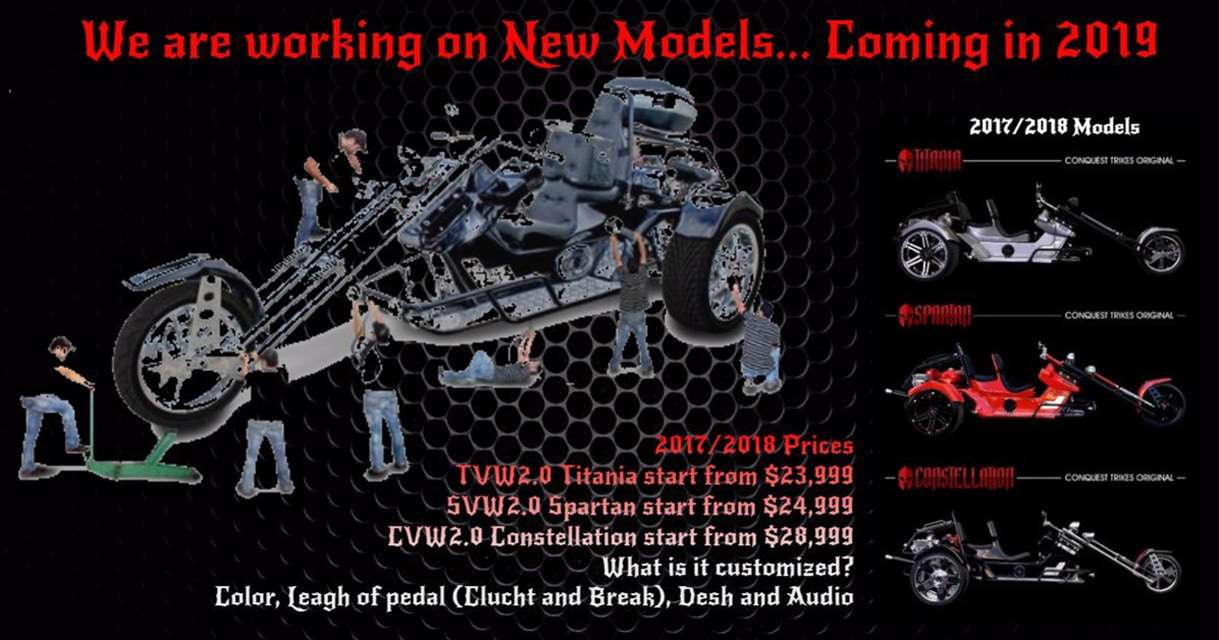 new models coming 2019