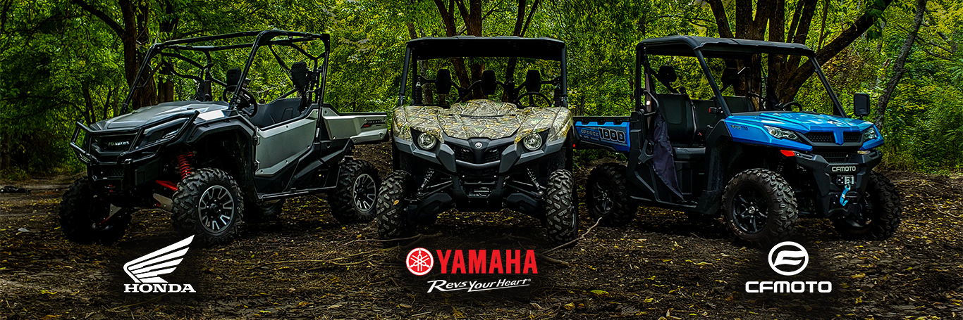 Motorsports Vehicles for Sale | Honda, Yamaha, & More | New