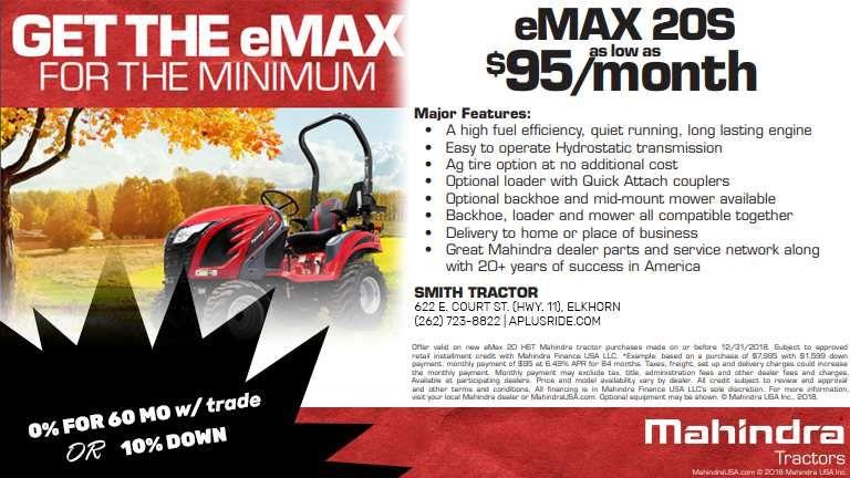 eMax 20s Promo