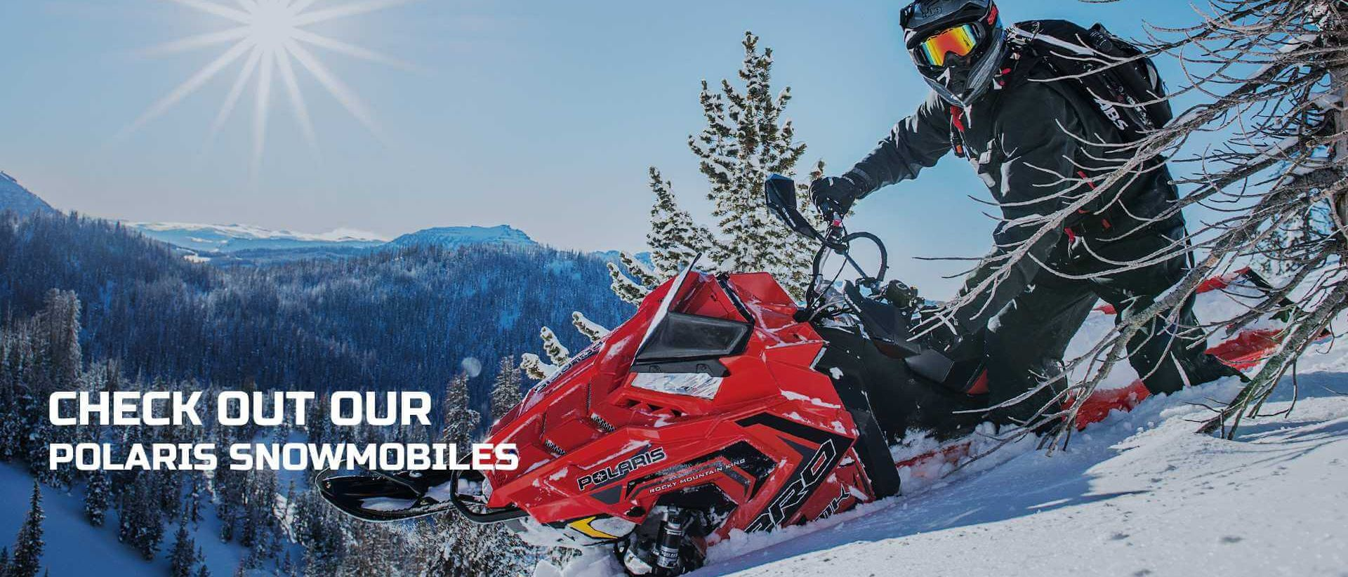 Check Out Our Polaris Snowmobiles | A+ Power Sports