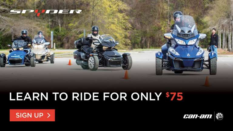 Can_Am Spyder Rider Education Program