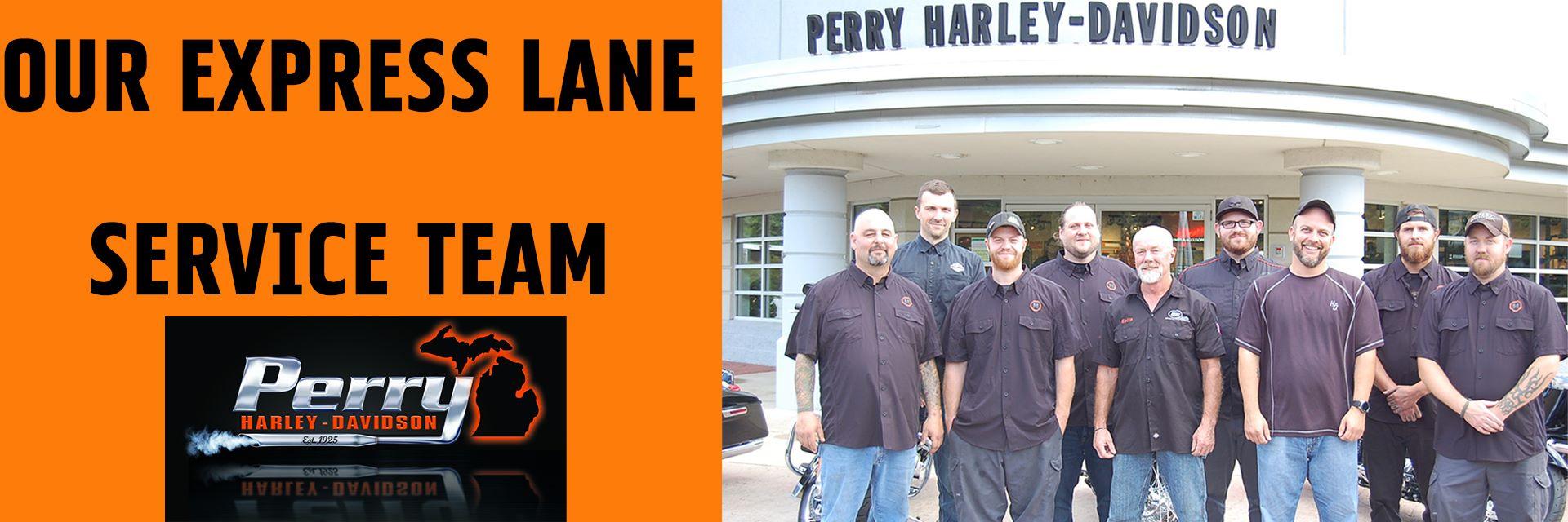 Perry Harley-Davidson: Motorcycle Dealers, Kalamazoo -Battle