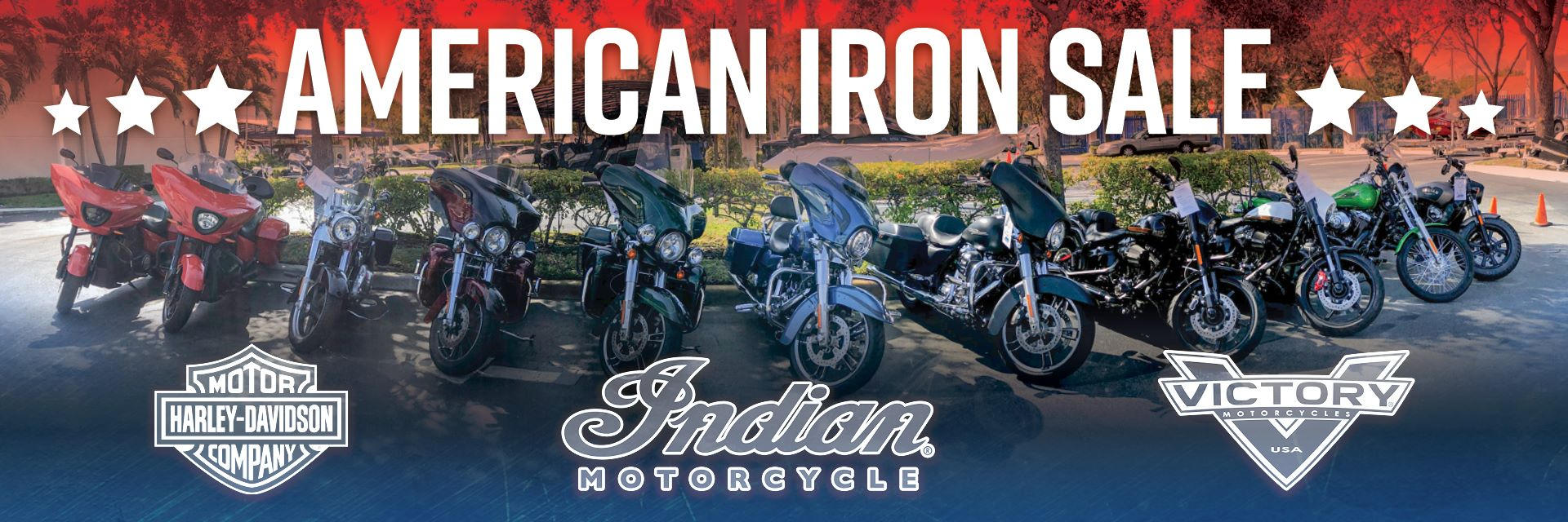 American Iron Harley-Davidson Victory Indian Motorcycles